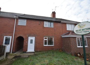 Thumbnail 2 bedroom terraced house for sale in Smeaton Road, Upton, Pontefract