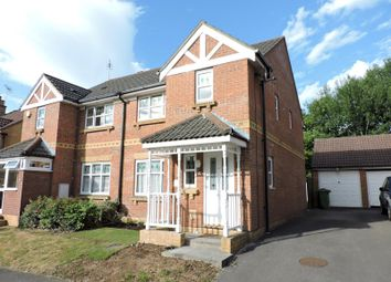 Thumbnail 3 bed semi-detached house to rent in Stag Way, Fareham