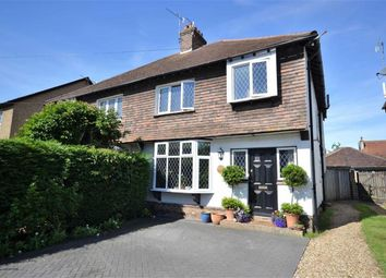 Thumbnail 3 bed semi-detached house for sale in Cissbury Road, Broadwater, Worthing, West Sussex