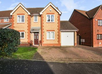 Thumbnail 4 bed detached house for sale in Lancaster Way, Northampton