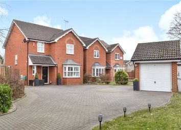 Thumbnail 4 bed detached house for sale in Frogmore Road, Frogmore, Surrey