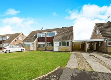 Thumbnail 3 bed semi-detached house for sale in Larksfield, Swindon