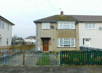 Thumbnail 3 bedroom semi-detached house for sale in Godsey Crescent, Market Deeping, Peterborough