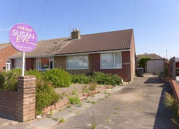 Thumbnail 2 bed semi-detached bungalow for sale in Whitley Avenue, Thornton-Cleveleys