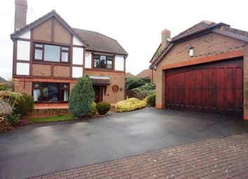 Thumbnail 4 bed detached house for sale in Crabtree Fold, Runcorn