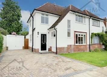Thumbnail 3 bed semi-detached house to rent in Gainsborough Avenue, St Albans, Hertfordshire