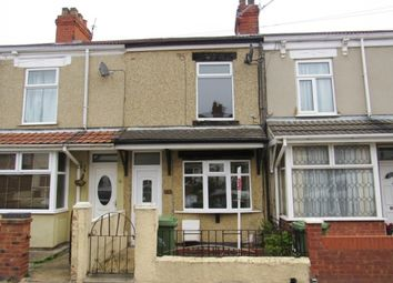Thumbnail 2 bed terraced house to rent in Hutchinson Road, Cleethorpes