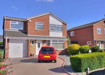 Thumbnail 5 bed detached house for sale in The Crest, Bedlington