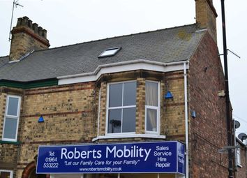 Thumbnail 2 bedroom maisonette to rent in Newbegin, Hornsea, East Yorkshire