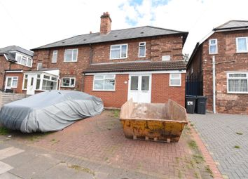 Thumbnail 3 bed semi-detached house for sale in St Margarets Road, Ward End, Birmingham