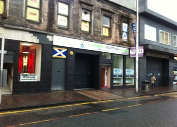 Thumbnail Retail premises to let in Oswald Street, Glasgow