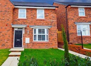 Thumbnail 3 bed semi-detached house for sale in Moss Lane, Sandbach