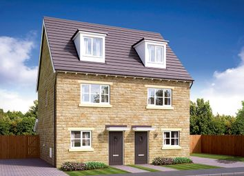 Thumbnail 3 bedroom semi-detached house for sale in Lockside, Littleborough