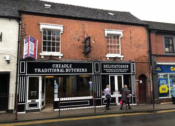 Thumbnail Retail premises for sale in 23 High Street, Cheadle, Staffordshire