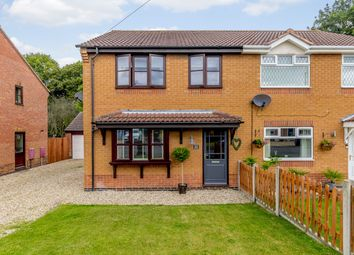 Thumbnail 3 bed semi-detached house for sale in Simpson Close, Barrow-Upon-Humber