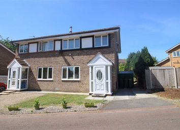 Thumbnail 3 bed semi-detached house for sale in Ash Meadow, Lea, Preston