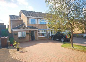 Thumbnail 5 bed semi-detached house for sale in Marsham Close, Aylesbury, Buckinghamshire