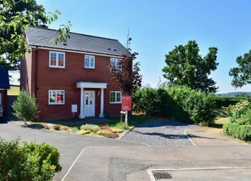 Thumbnail 3 bed detached house for sale in Gwyther Mead, Bishops Hull, Taunton