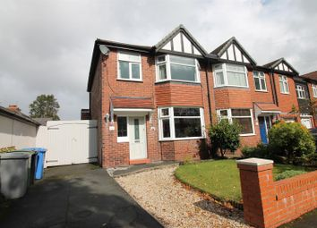 Thumbnail 3 bed semi-detached house to rent in Barnfield, Urmston, Manchester
