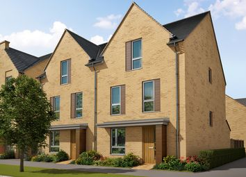 "Thumbnail 4 bed detached house for sale in ""The Stapleford 2"" at Heron Road, Northstowe, Cambridge"