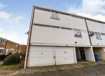 Thumbnail 3 bedroom end terrace house for sale in Clare Close, Mildenhall, Bury St. Edmunds