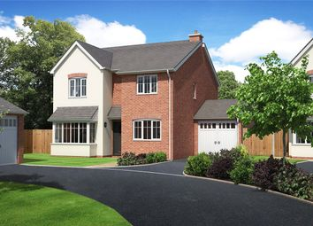 Thumbnail 4 bed detached house for sale in Plot 7, Chelwood View, Crew Green, Shrewsbury