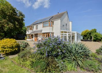 Thumbnail 4 bed detached house for sale in North Road, Gedney Hill, Spalding