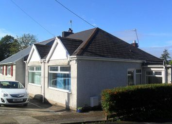 Thumbnail 2 bed semi-detached bungalow to rent in Graigola Road, Glais, Swansea.