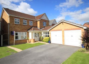 Thumbnail 4 bed detached house for sale in Haller Close, Armthorpe, Doncaster