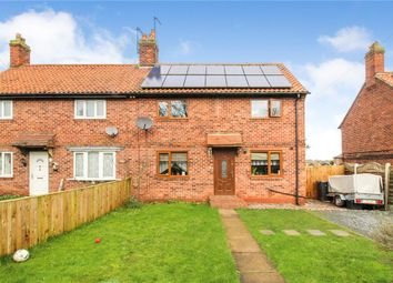 Thumbnail 3 bed semi-detached house for sale in Arrows Crescent, Boroughbridge, York, North Yorkshire