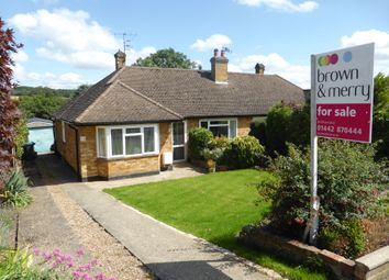 Thumbnail 2 bed semi-detached bungalow for sale in Covert Road, Northchurch, Berkhamsted