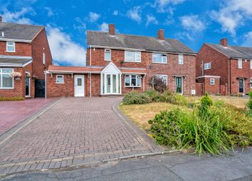 Thumbnail 3 bed semi-detached house for sale in Ascot Drive, Cannock