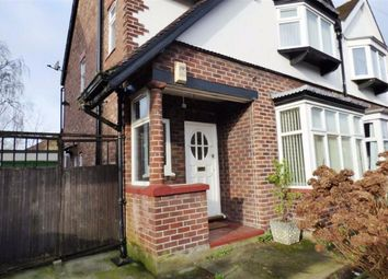 Thumbnail 3 bed semi-detached house to rent in Burnside Drive, Burnage, Manchester
