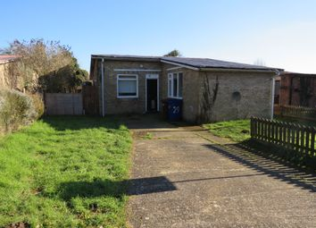 Thumbnail 2 bedroom detached bungalow for sale in Aspal Hall Road, Beck Row, Bury St. Edmunds