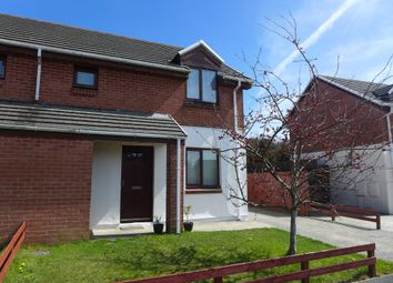 Thumbnail 2 bed semi-detached house for sale in Bro Stinian, Scleddau, Fishguard