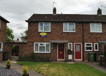 Thumbnail 2 bedroom end terrace house to rent in Queensway, Wem, Shropshire
