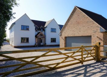 Thumbnail 4 bed detached house for sale in East Drive, Caldecote, Cambridge