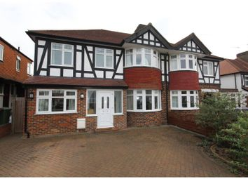 Thumbnail 5 bed semi-detached house for sale in Rosedale Road, Stoneleigh, Epsom