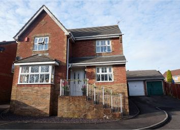 Thumbnail 4 bed detached house for sale in Elm Wood Drive, Porth