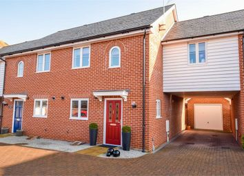 Thumbnail 3 bed semi-detached house for sale in Britannia Mews, Colchester, Essex