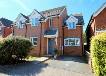 Thumbnail 3 bedroom semi-detached house for sale in Emelina Way, Seasalter, Whitstable