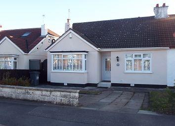 Thumbnail 3 bed semi-detached bungalow for sale in Cross Lane, Bebington, Wirral