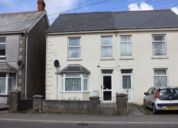 Thumbnail 2 bed semi-detached house for sale in Rosevear Road, Bugle, St. Austell