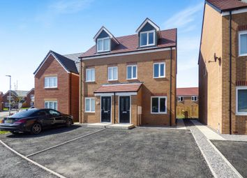 Thumbnail 3 bed semi-detached house for sale in Ripley Close, Ouston, Chester Le Street