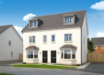 "Thumbnail 3 bedroom property for sale in ""The Roxburgh At Lyons Gate"" at Heathfield Road, Ayr"