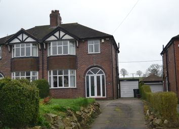 Thumbnail 3 bed semi-detached house for sale in Station Road, Keele, Newcastle-Under-Lyme