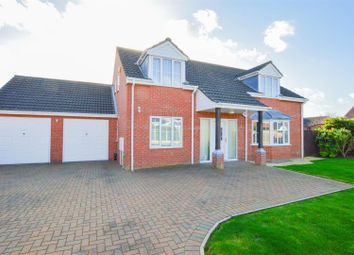 Thumbnail 5 bed detached house for sale in Bittern Close, Cowbit, Spalding
