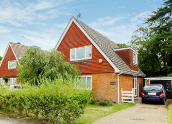 Thumbnail 4 bed detached house for sale in Holly Close, Woking