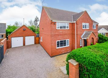 Thumbnail 5 bed detached house for sale in Wype Road, Whittlesey, Peterborough
