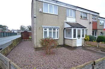 Thumbnail 3 bed end terrace house to rent in Kennedy Avenue, Macclesfield